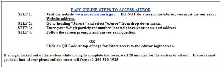 Tips For Completing Your Juror Qualification Questionnaire Through